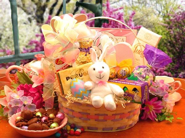 Dressing your easter basket dressed to a t