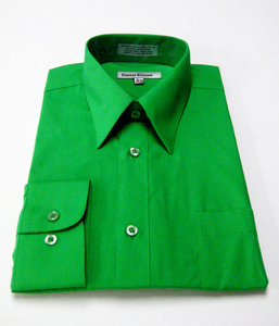 I m irish but please don t pinch me for i shall be Emerald green mens dress shirt