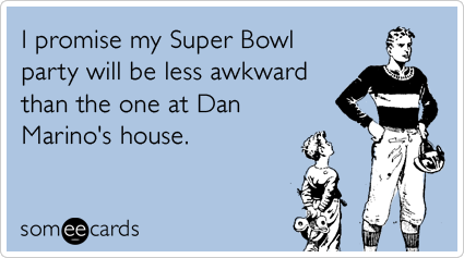 Dan marino love child cbs super bowl sunday ecards someecards