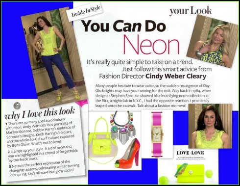 You can do neon