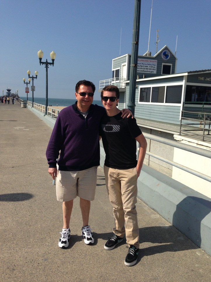 kev and paddy seal beach