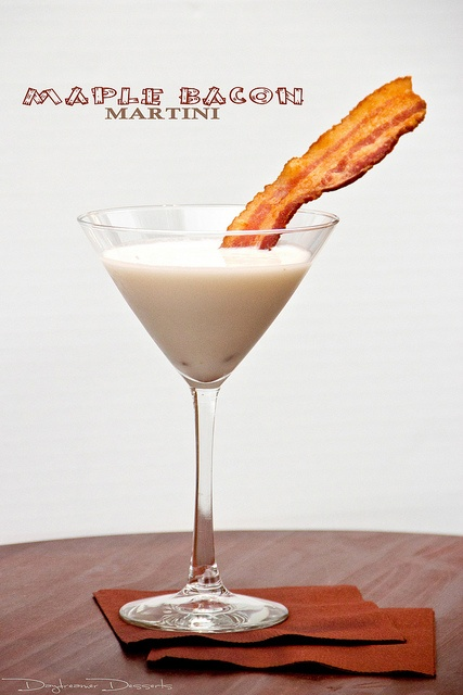 maple bacon martini