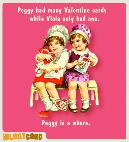 Peggy is a whore