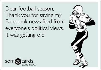 Dear Football Season