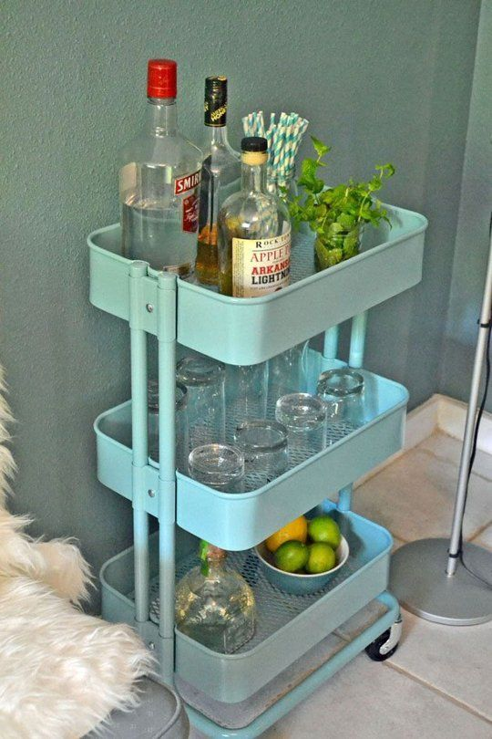 dressing your bar cart dressed to a t. Black Bedroom Furniture Sets. Home Design Ideas