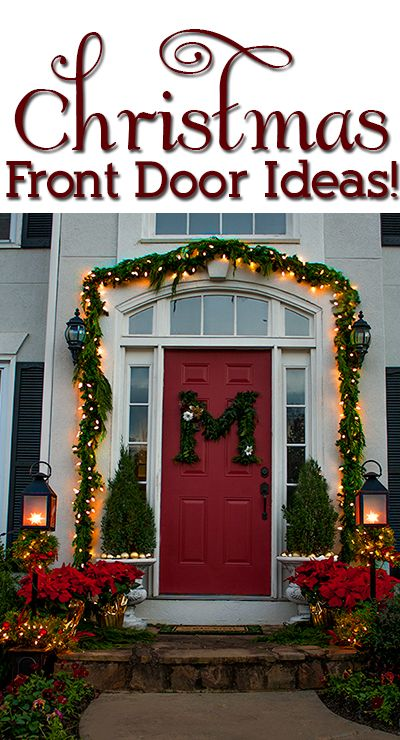 Dressing Your Holiday Porch Dressed To A T