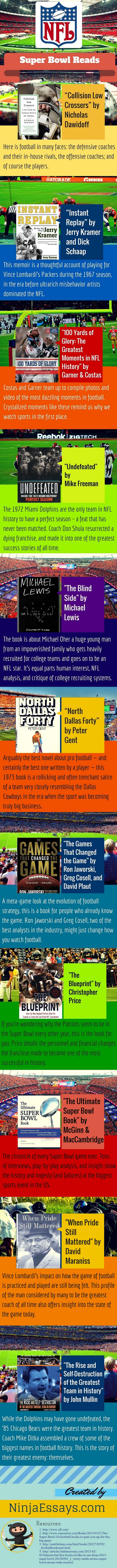 Best NFL Reads