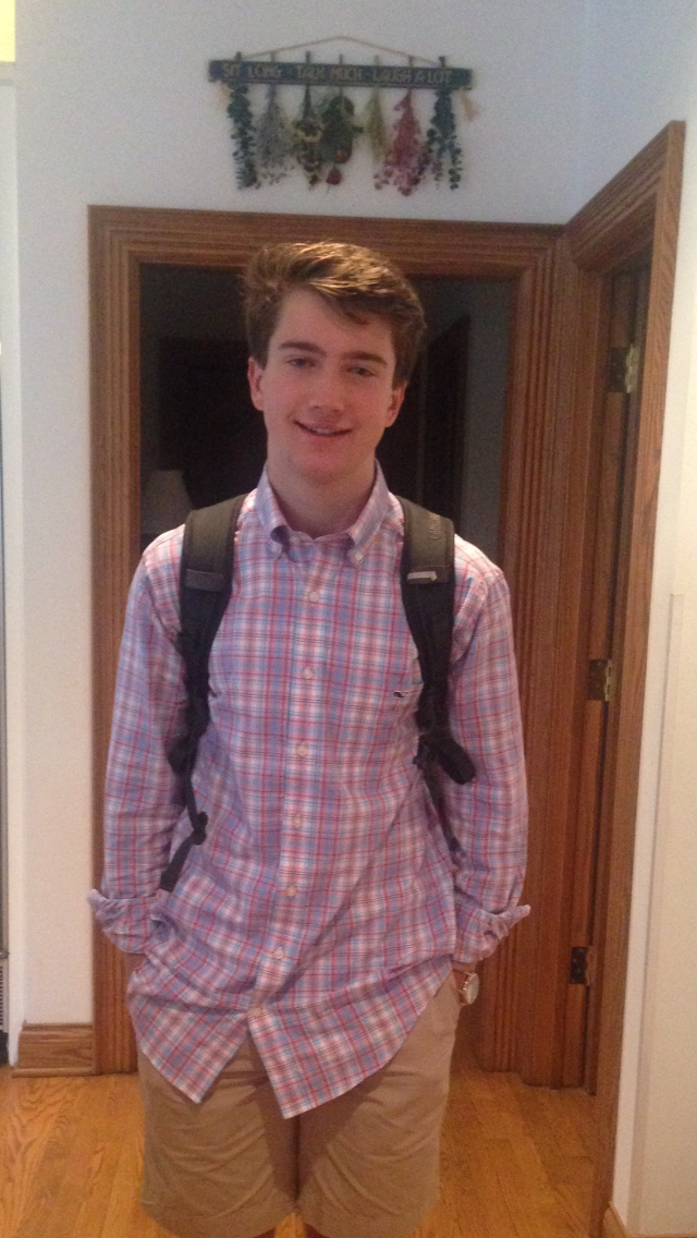 first day of school senior year paddy
